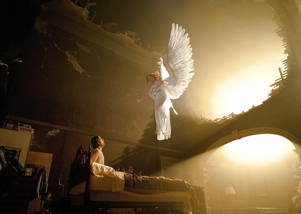 Jesus and Angels Wallpaper